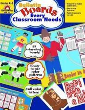 Bulletin Boards Every Classroom Needs, Grades K-6, Grades K-6 by Evan-Moor...