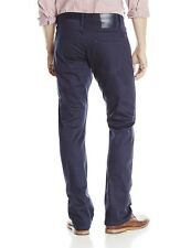 The Unbranded Brand UB308 Men's Straight Selvedge Chino Pants Jeans Navy NEW 33