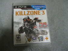 2011 PS 3 KILLZONE 3 VIDEO GAME COMPLETE WITH GAME MANUAL BILINGUAL COVER