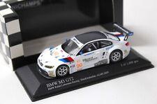 1:43 Minichamps BMW M3 GT2 Hand/Auberlen ALMS 2009 #90 NEW bei PREMIUM-MODELCARS