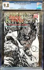 DARK TOWER: THE GUNSLINGER BORN #6 in NM/MINT CGC graded 9.8 comic Sketch cover
