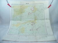ABÉCHÉ TCHAD ND-34 1968 1:200.000 Ancienne carte d'Afrique A.E.F & Cameroun IGN
