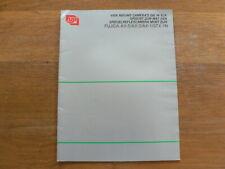 FUJI FUJICA AX-5,AX-3,AX-1,STX-1N SPIEGELREFLEX CAMERA'S  BROCHURE,PROSPEKT 1980