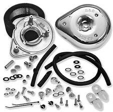 S&S Cycle Teardrop Air Cleaner Kit Stock CV & EFI 17-0450