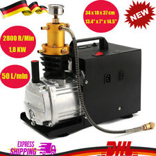 220V High Pressure Electric Pump PCP Air Compressor for Paintball Air Rifles DE