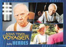 Star Trek Voyager Heroes & Villains GOLD PARALLEL Base Card #20 - 024/100