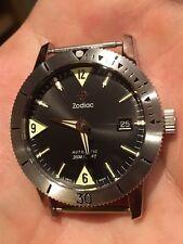 New! Zodiac Sea Wolf 53 ZO9203 Swiss Automatic Mens Watch