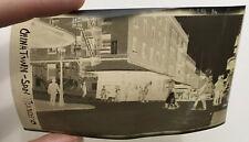 VINTAGE 1950'S PHOTOGRAPH NEGATIVE SAN FRANCISCO CALIFORNIA CHINATOWN 419A