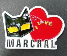 VINTAGE LOVE MARCHAL FOG LIGHT bulb HISTORY PIN FOR SALE CAT LOGO VECTOR BADGE
