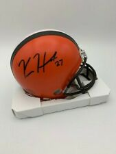 Kareem Hunt Signed Cleveland Browns Mini Helmet COA/Holograms Included