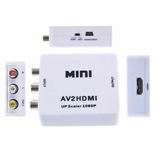 Mini Composite AV CVBS 3RCA to HDMI Video Converter Adapter For TV/PC/PS3/DVD