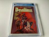 DEVILINA 1 CGC 9.6 WHITE PAGES SHAKESPEARE THE TEMPEST ATLAS SEABOARD COMIC 1975
