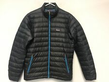 Patagonia Men Down Sweater Puffer Jacket Navy Lightweight Size M