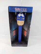SEALED MARVEL UNIVERSE CAPTAIN AMERICA GIANT PEZ CANDY DISPENSER MIB 2011