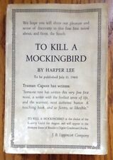 Harper Lee ~ To Kill a Mockingbird ~ First Edition ~ First Issue ~ ARC ~