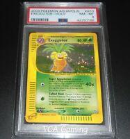 PSA 8 NM-MINT Exeggutor H10/H32 Aquapolis Set HOLO RARE Pokemon Card