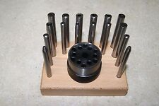 16 PIECE SET ANVILS & STAKES CLOCK MAKERS NEW MANTEL CLOCK PARTS