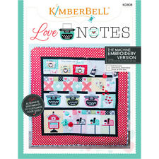 Kimberbell Love Notes for Machine Embroidery CD
