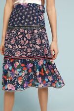 NWT! Anthropologie One September Floral Melody Skirt (M Petite)