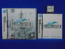 ds FINAL FANTASY III 3 Original PAL RPG Lite DSi 3DS REGION FREE PAL UK