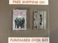 THE BEST OF CHIC VOL. 2 GREATEST HITS DISCO CASSETTE