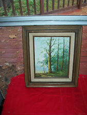 VINTAGE OIL PAINTING/ LANDSCAPE BY REEVES