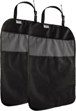 Hillington BO151 Waterproof Back Seat Protective Cover - Black (Pack of 2)