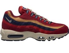 Nike Air Max 95 PRM   Red Crush/Wheat Gold   Mens Trainers [538416-603] UK 7