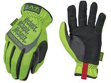 Mechanix Wear SFF-91-011 Men's Yellow Color Hi-Viz Fast Fit Gloves - Size XLarge