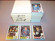 1989 90 Topps Hockey Complete Set 1-198 Joe Sakic Rookie MINT FREE SHIPPING