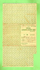 #D301, SCARCE 1948 PRE-NATAL SPECIAL CLOTHING AUST. POST WWII  RATION COUPON