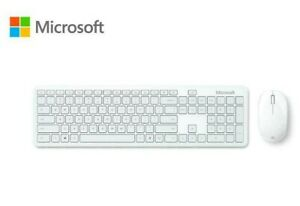 Microsoft - Bluetooth Keyboard and Mouse - Glacier Clavier Souris QHG-00031