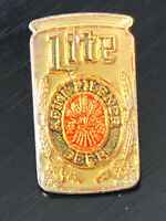 Vintage Collectible Lite Beer Colorful Metal Pin Back Lapel Pin Hat Pin
