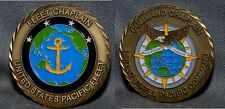 VERY RARE & NEAT USN PACIFIC FLEET COMMAND FLEET CHAPLAIN CHALLENGE COIN