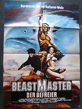 BEASTMASTER - DER BEFREIER - Filmplakat A1 - Marc Singer, Tanya Roberts