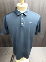 Nike Fit dry men's size L black short sleeve shirt polo