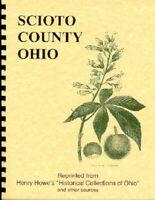 OH Scioto County Ohio History/genealogy/trivia Howe RP Portsmouth Buena Vista