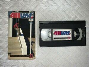 411 VM issue 33 Skateboarding VHS Video RARE