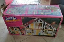 BARBIE DOLL FURNITURE DREAM HOUSE 1978 YELLOW A-FRAME REPLACEMENT BOX ONLY