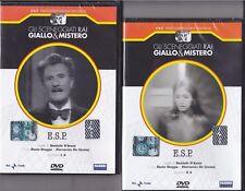 2 Dvd Sceneggiati Rai «E.S.P. ~ ESP» con Paolo Stoppa completa nuovo 1973