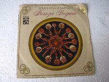 Songs of Kazi Nazrul Feroza Begum EASD 1394 Bengali LP Record India NM-1456