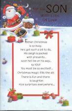 Blue Christmas Hand-Made Cards
