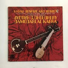 JYOTISH C. CHOUDHURY & DAMODARLAL KABRA ~ RAGAS ~ INDIAN CLASSICAL ~ LP