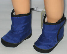 New OLD NAVY Size 3-6 Months Deep Space Blue Boots Shoes