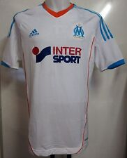 OLYMPIC MARSEILLE 2012/13 S/S TECHFIT HOME SHIRT IN BAG BY ADIDAS SIZE LARGE