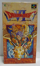 DRAGON QUEST VI 6 - JAPAN NTSC BOXED SUPER FAMICOM SNES W/MAP