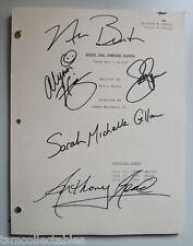 BUFFY THE VAMPIRE SLAYER full cast autographed script GELLAR HANNIGAN SMG