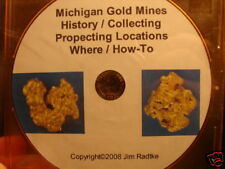 Michigan Gold Mines Collecting Prospecting Locations $