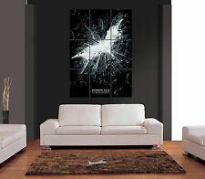 Il CAVALIERE OSCURO BLACK & WHITE FILM MOVIE Giant WALL ART PRINT PICTURE POSTER