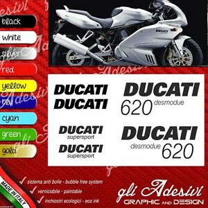 Series Adhesives Stickers Compatible DUCATI 620 Super Sport Desmodue